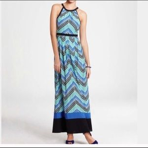 Ann Taylor spring colors maxi dress